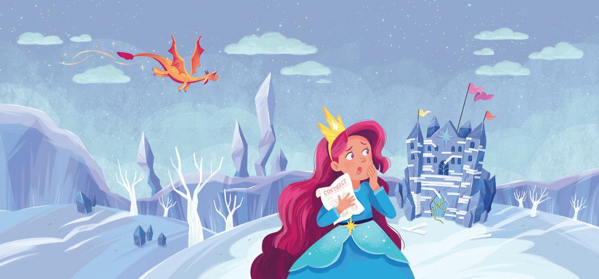 princess persephone loses the castle